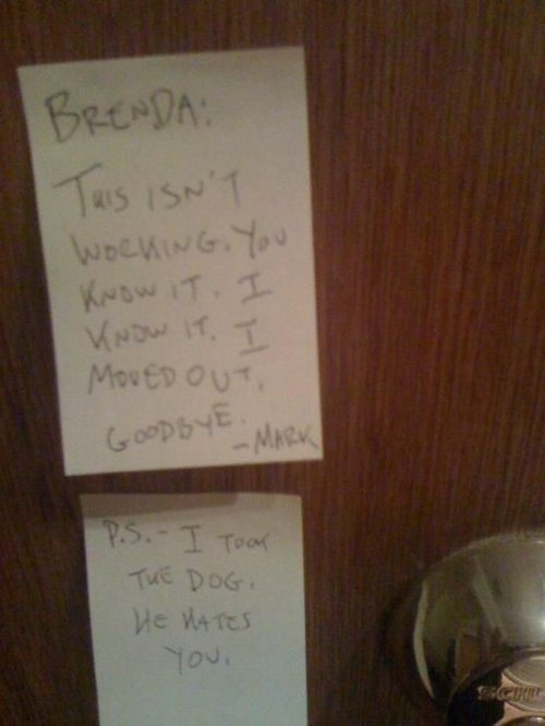 break up letter to him 20 insanely passive aggressive ways to up with 13652 | break up letters 4