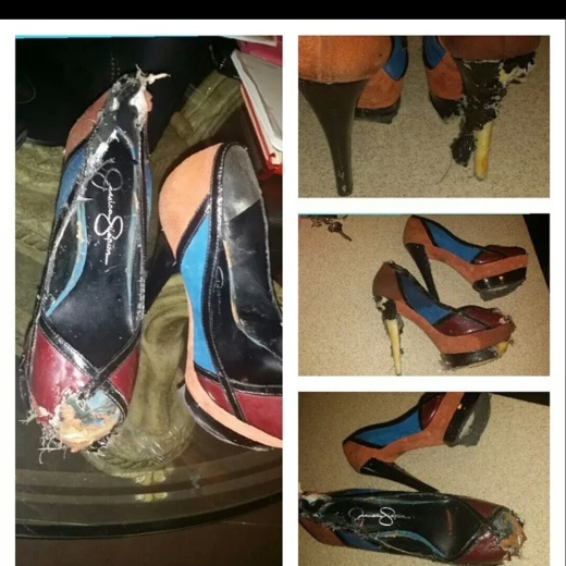 What's left of my pumps